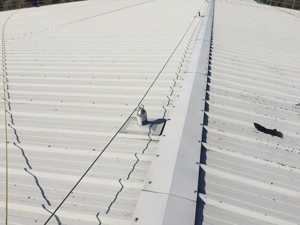 Harness Line And Fixed Ladder Access