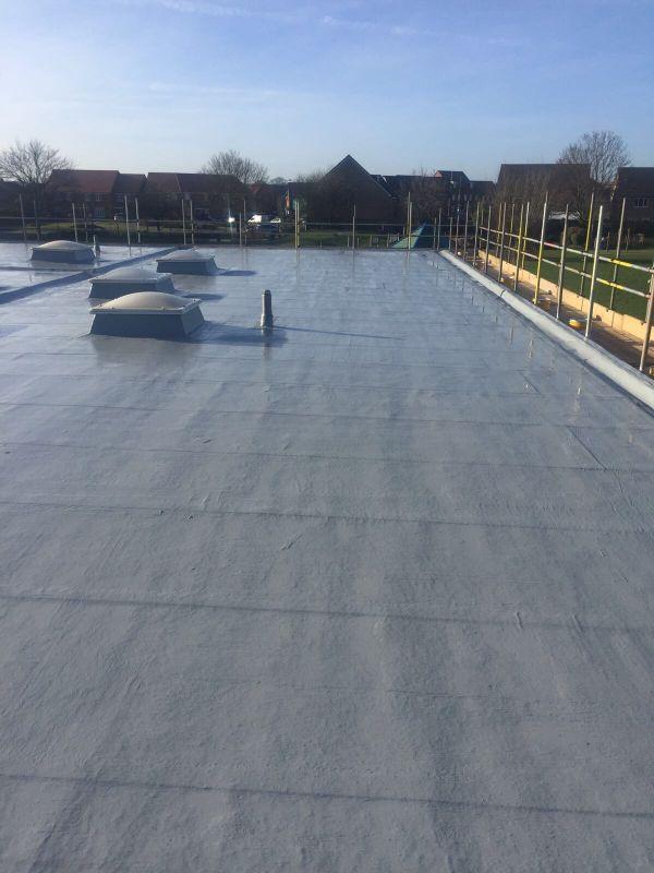 Liquid Coating Flat Roofs