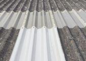 Woodside Asbestos Roof